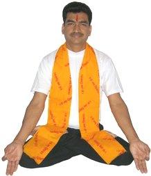 Ranjiv Kalsi in Yoga Padmasana