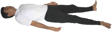 Yoga Stretch: Savasana Corpse Posture